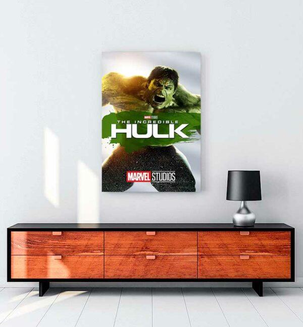 The Incredible Hulk kanvas tablo satın al