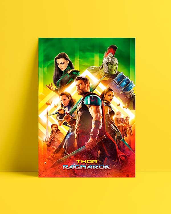 Thor Ragnarok 2017 afiş