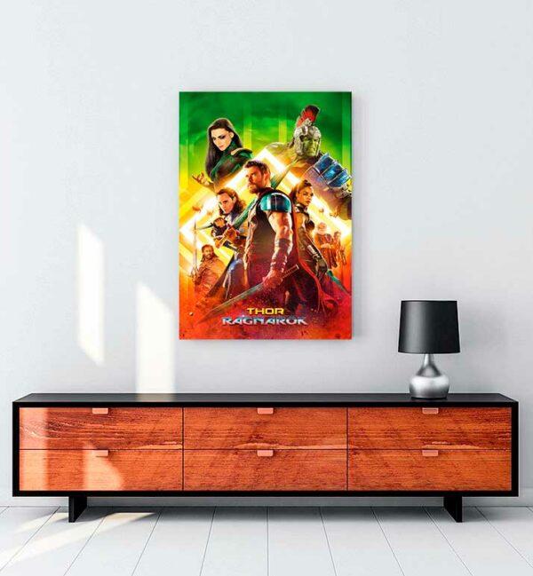 Thor Ragnarok 2017 kanvas tablo