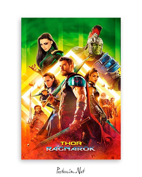 Thor Ragnarok 2017 poster
