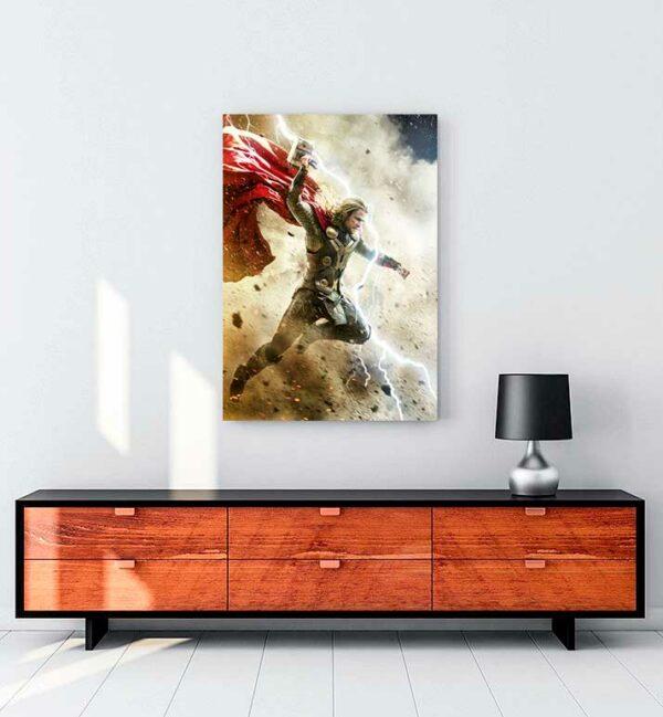 Thor kanvas tablo satın al