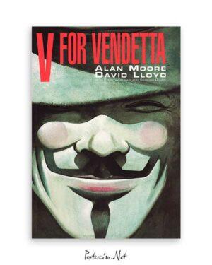 V-For Vendetta Vertigo poster satın al
