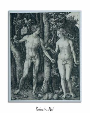 Adam en Eva afişi