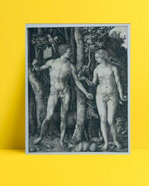 Adam en Eva posteri