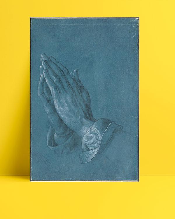 Praying Hands posteri
