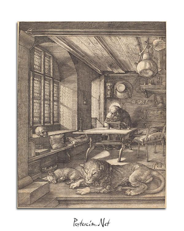 Saint Jerome in His Study afişi