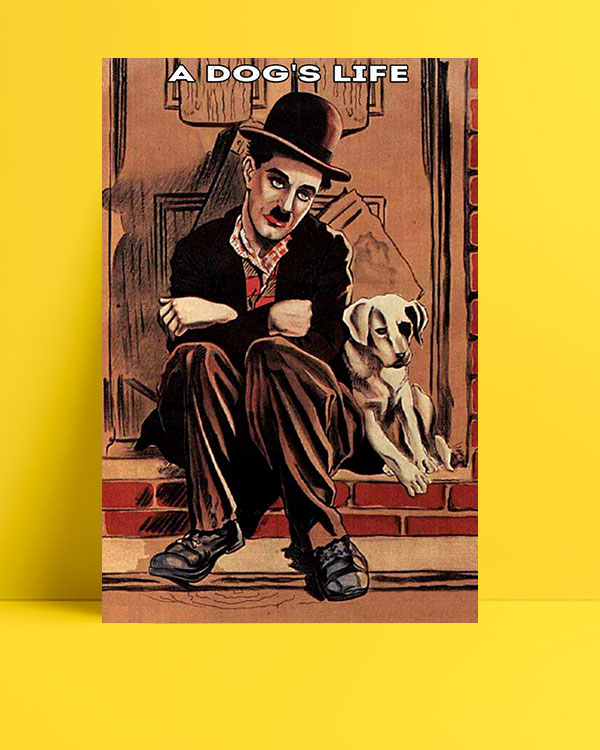 A dog's life posteri