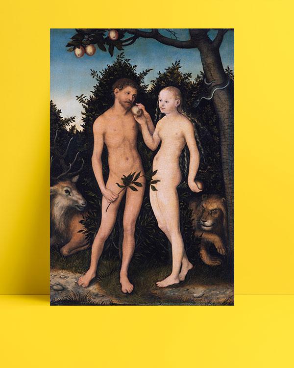 Adam-and-Eve-in-paradise-posteri