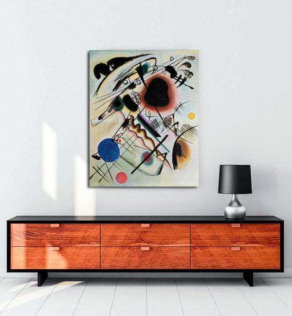 Black Spot kanvas tablo