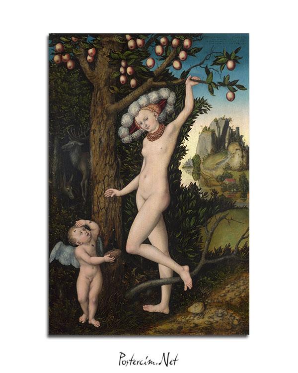 Cupid-complaining-to-Venus-afisi