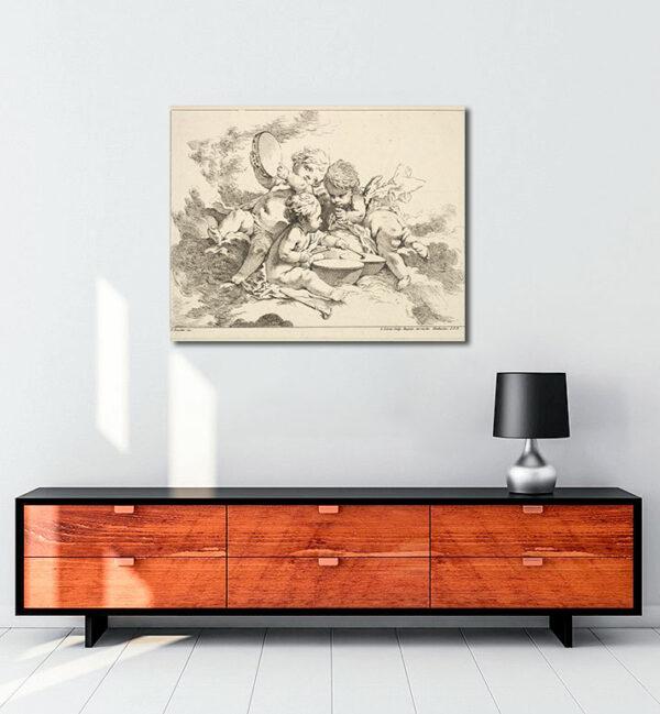 Earth-kanvas-tablo