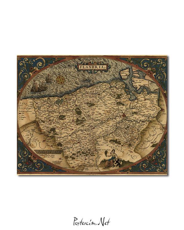 Flandria - 1645 afişi