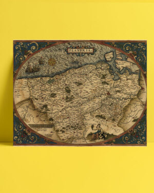 Flandria - 1645 posteri