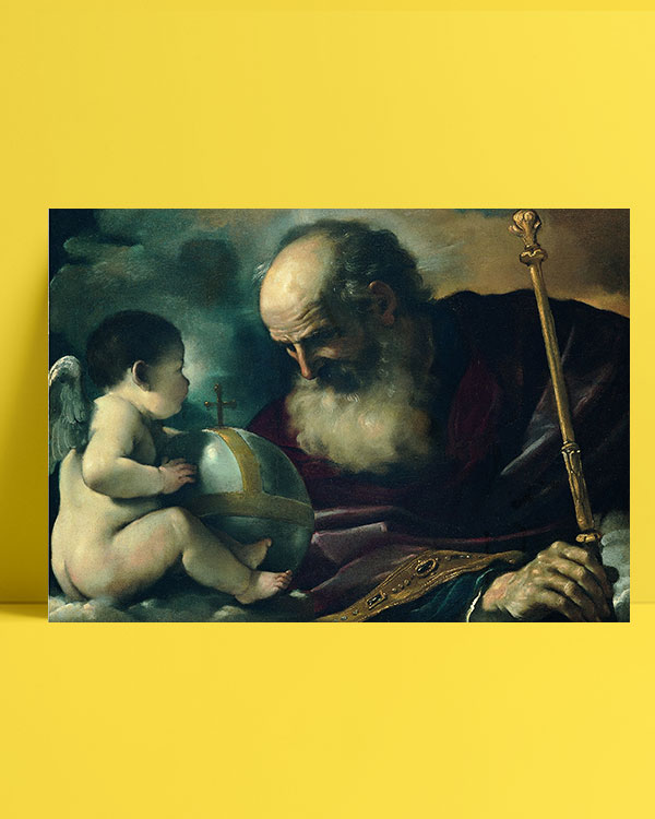 God the Father and Angel posteri