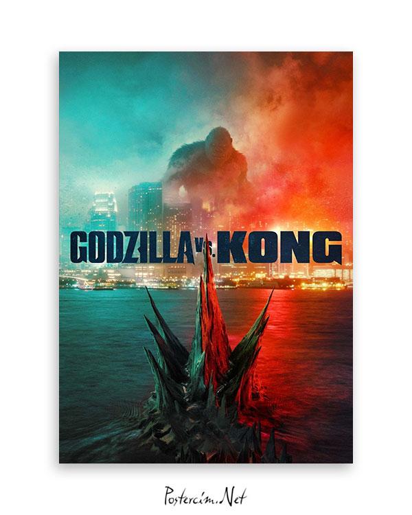 Godzilla vs. Kong afişi