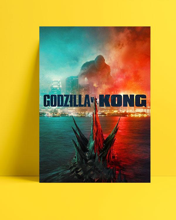 Godzilla vs. Kong posteri