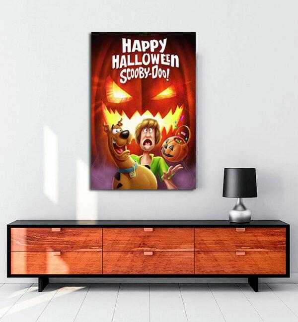 Happy Halloween, Scooby Doo! (2020) kanvas tablo