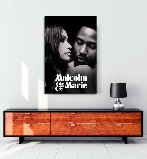 Malcolm&Marie kanvas tablo