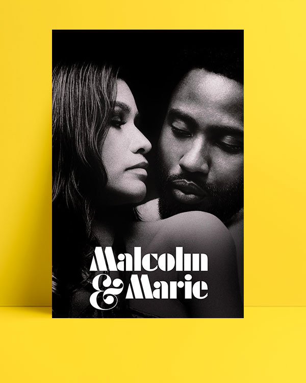 Malcolm&Marie posteri