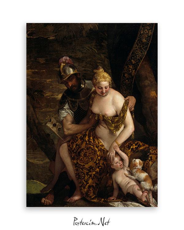 Mars, Venus and Cupid afişi