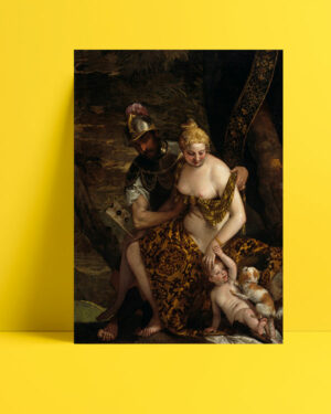 Mars, Venus and Cupid posteri