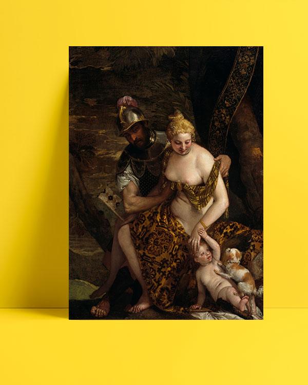 Mars, Venus and Cupid posteri