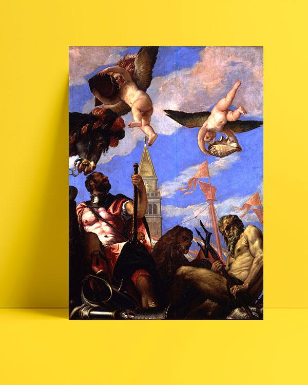 Mars and Neptune posteri