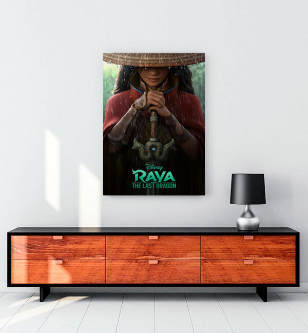 Raya and the Last Dragon (2021) kanvas tablo