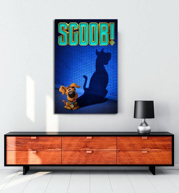 Scoob! kanvas tablo