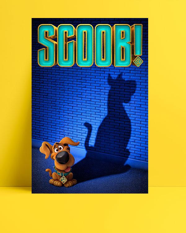 Scoob! posteri