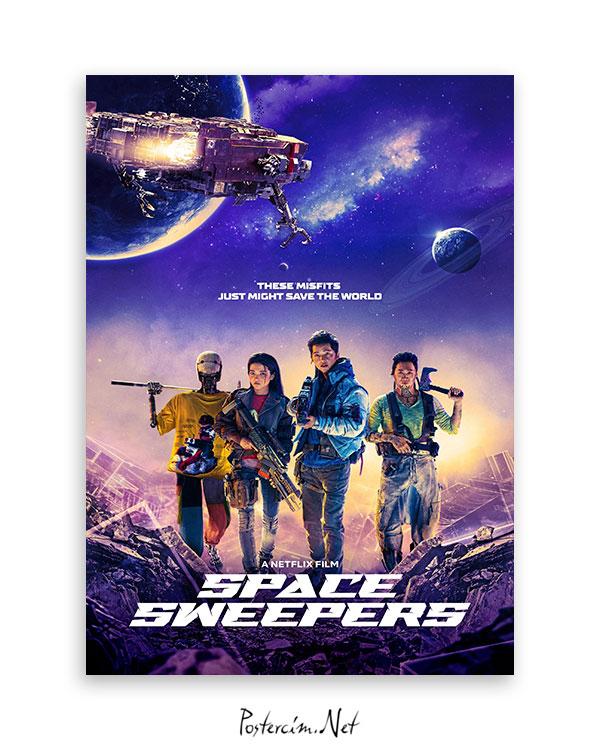 Space Sweepers (2021) afişi