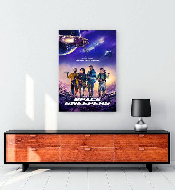 Space Sweepers (2021) kanvas tablo