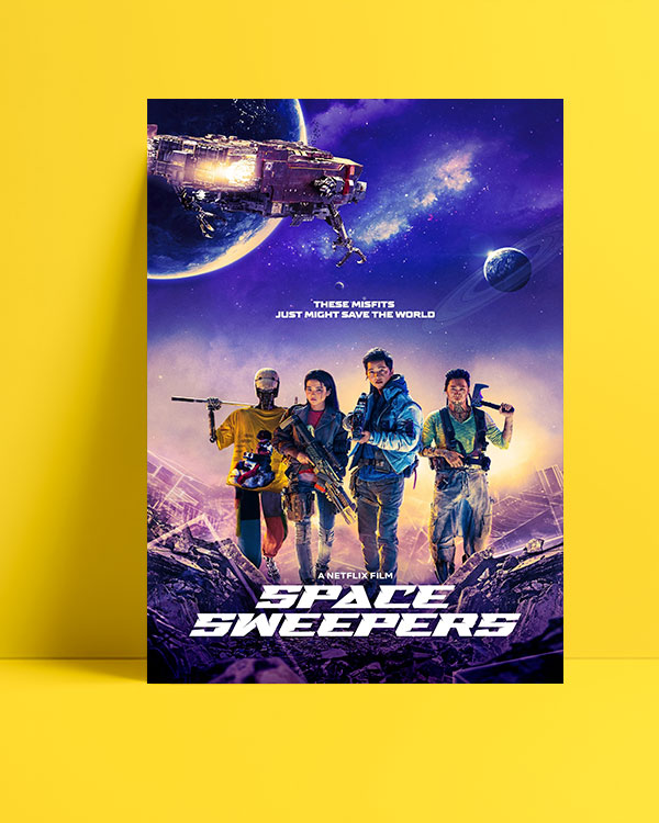 Space Sweepers (2021) posteri