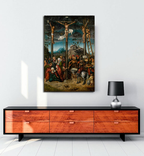 The-Crucifixion-kanvas-tablo