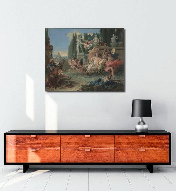 The Empire of Flora kanvas tablo