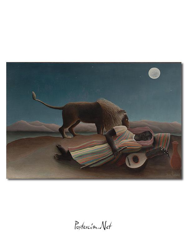 The Sleeping Gypsy afisi
