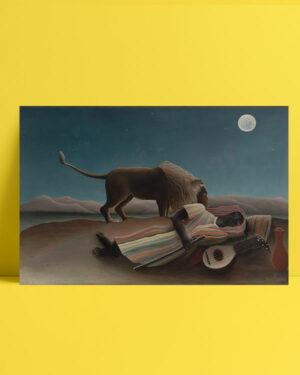 The Sleeping Gypsy posteri