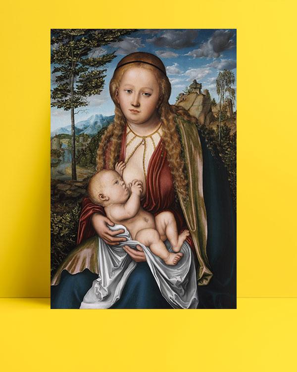 The-Virgin-Suckling-the-Child-posteri