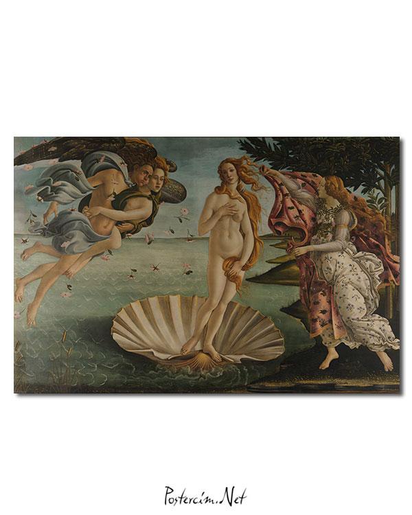 The birth of Venus afişi