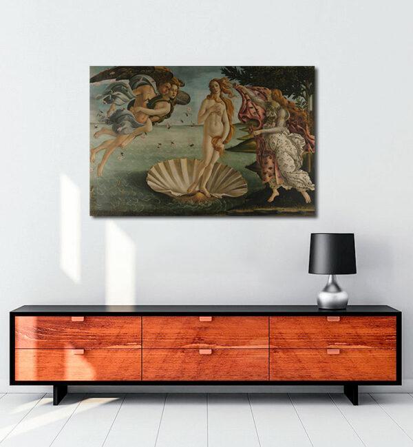 The birth of Venus kanvas tablo
