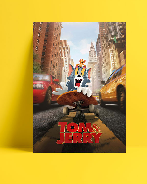 Tom & Jerry (2021) posteri