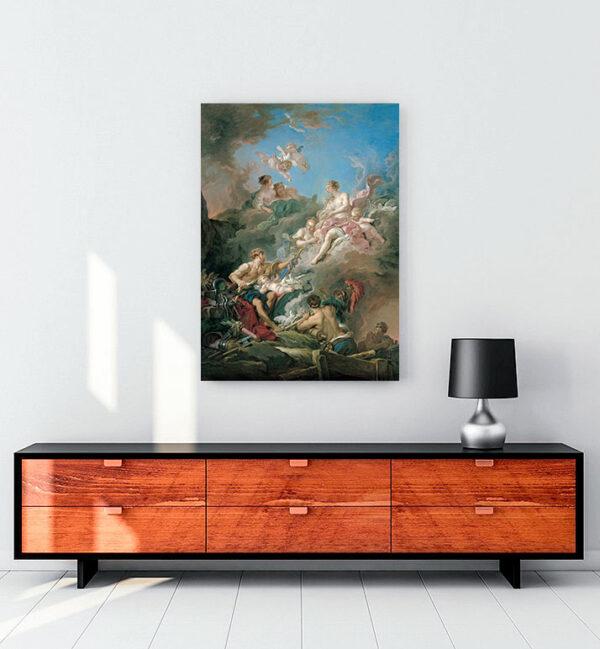 Venus-at-Vulcan's-Forge-kanvas tablo
