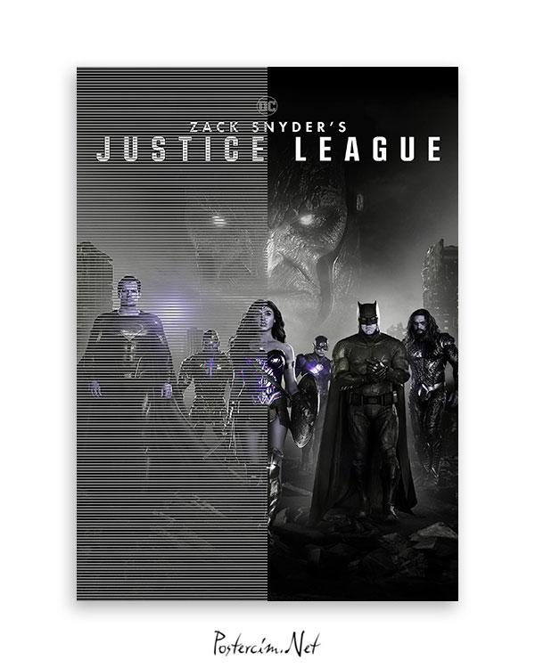 Zack Snyder's Justice League (2021) afişi