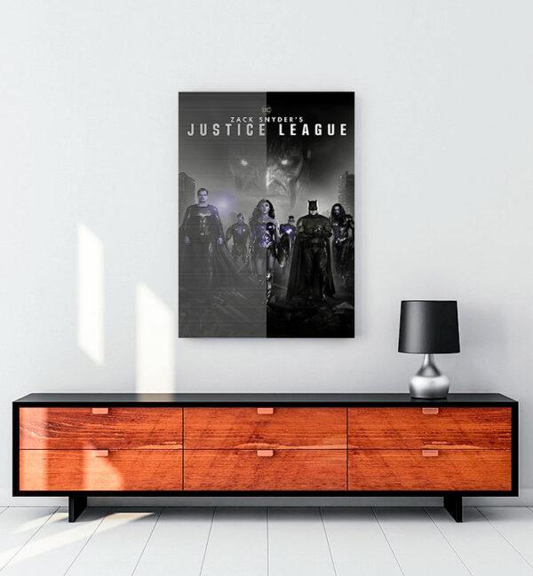 Zack Snyder's Justice League (2021) kanvas tablo