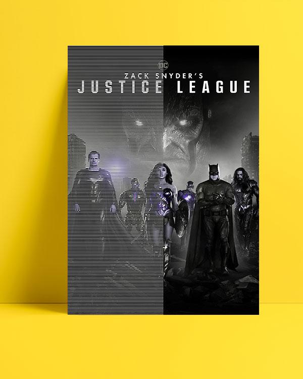 Zack Snyder's Justice League (2021) posteri