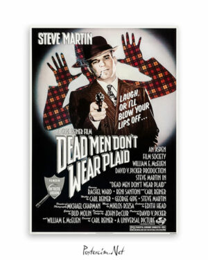 Dead Men Don't Wear Plaid (1982) afişi