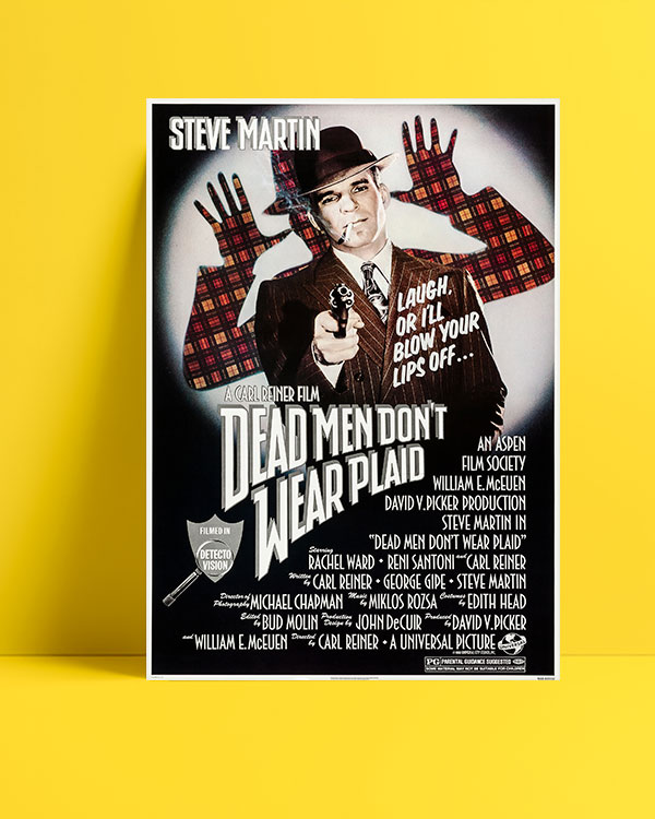 Dead Men Don't Wear Plaid (1982) posteri