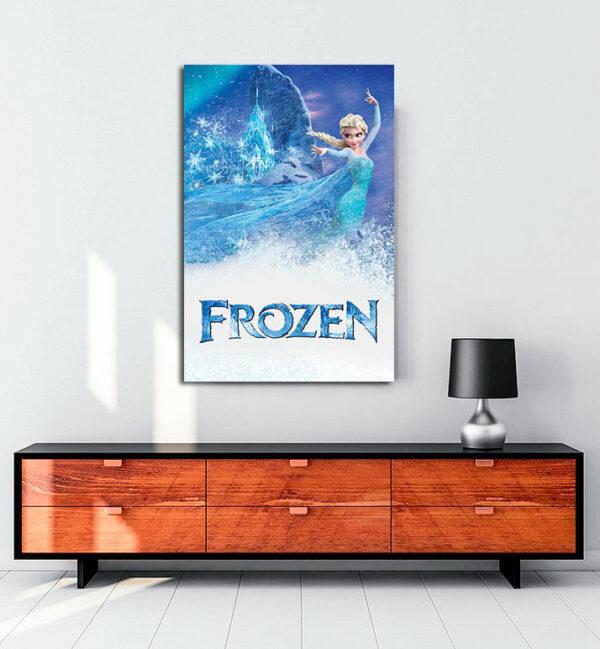 Frozen (2013) kanvas tablo