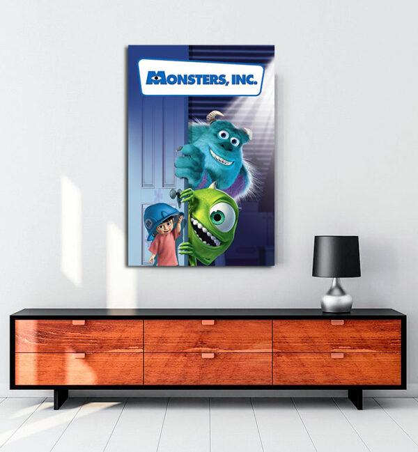 Monsters, Inc. (2001) kanvas tablo