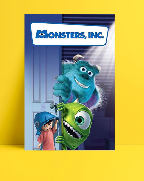 Monsters, Inc. (2001) posteri